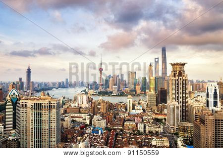 skyline and buildings