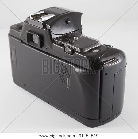 Back Of A Film Camera