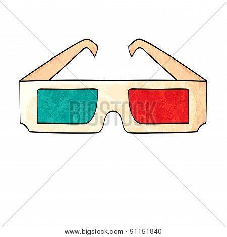 3D Glasses - Three