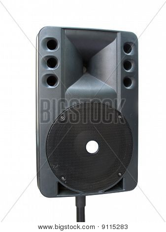 Old Powerfull Concerto Audio Speaker Isolated On White