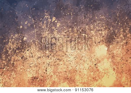 dirty background, color wall, vector