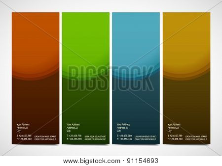 Professional and designer cards