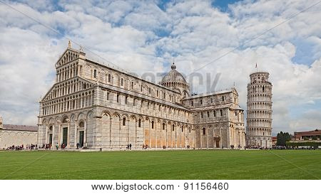 Pisa - Cathedral And Leaning Tower
