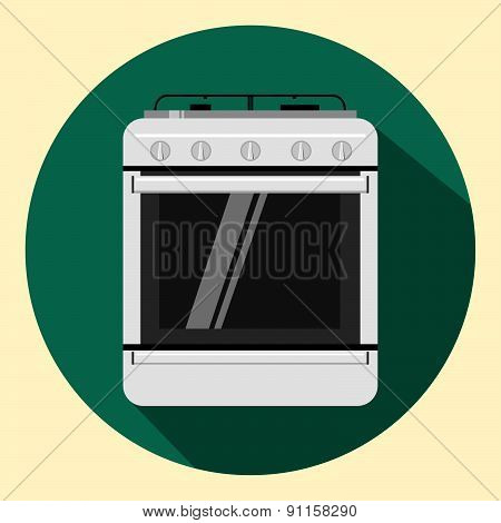 Vector isolated oven