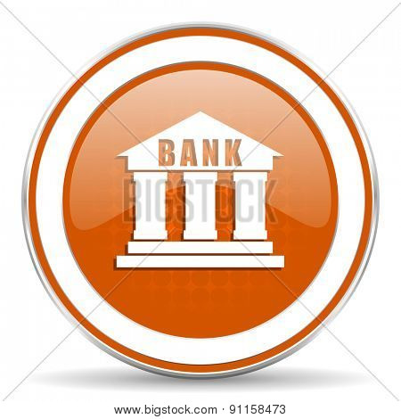 bank orange icon