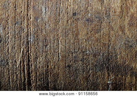 Close Up Of Brown Wood Texture