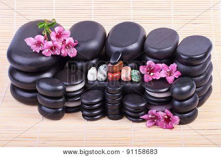 Set of spa stones