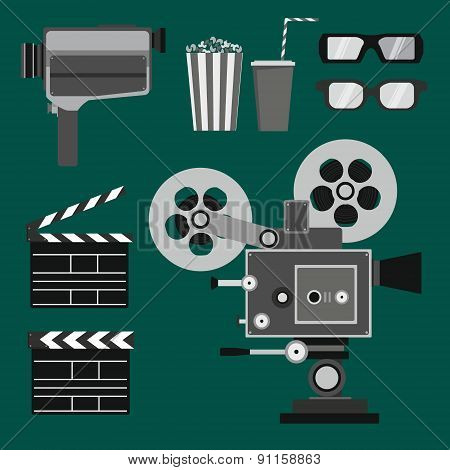 Set of movie objects