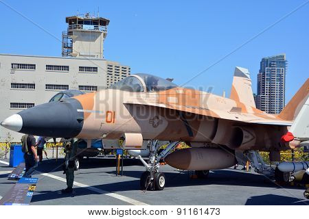 The McDonnell Douglas F/A-18 Hornet