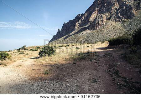 Landscape On Sicily.