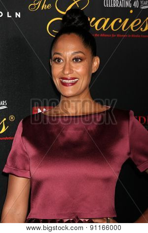 LOS ANGELES - MAY 19:  Tracee Ellis Ross at the 40th Anniversary Gracies Awards at the Beverly Hilton Hotel on May 19, 2015 in Beverly Hills, CA