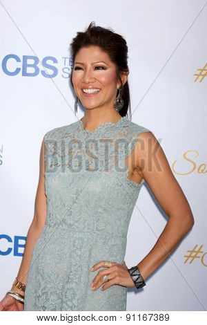LOS ANGELES - MAY 18:  Julie Chen at the CBS Summer Soiree 2015 at the London Hotel on May 18, 2015 in West Hollywood, CA