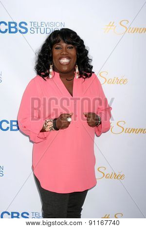 LOS ANGELES - MAY 18:  Sheryl Underwood at the CBS Summer Soiree 2015 at the London Hotel on May 18, 2015 in West Hollywood, CA