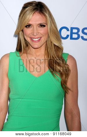 LOS ANGELES - MAY 18:  Debbie Matenopoulos at the CBS Summer Soiree 2015 at the London Hotel on May 18, 2015 in West Hollywood, CA