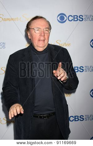 LOS ANGELES - MAY 18:  James Patterson at the CBS Summer Soiree 2015 at the London Hotel on May 18, 2015 in West Hollywood, CA