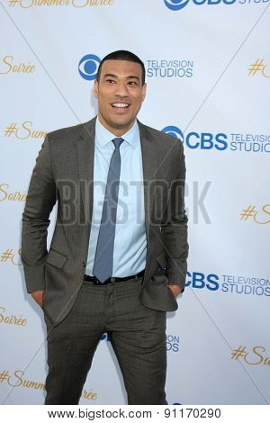 LOS ANGELES - MAY 18:  Michael Yo at the CBS Summer Soiree 2015 at the London Hotel on May 18, 2015 in West Hollywood, CA