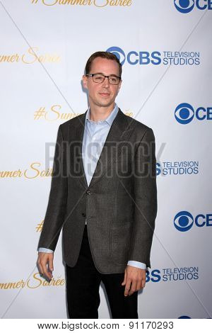 LOS ANGELES - MAY 18:  Sean Murray at the CBS Summer Soiree 2015 at the London Hotel on May 18, 2015 in West Hollywood, CA