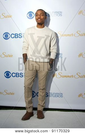 LOS ANGELES - MAY 18:  Shad Moss at the CBS Summer Soiree 2015 at the London Hotel on May 18, 2015 in West Hollywood, CA