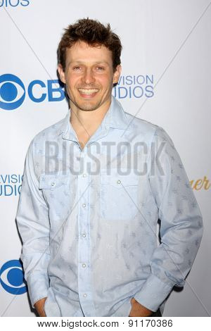 LOS ANGELES - MAY 18:  WIll Estes at the CBS Summer Soiree 2015 at the London Hotel on May 18, 2015 in West Hollywood, CA