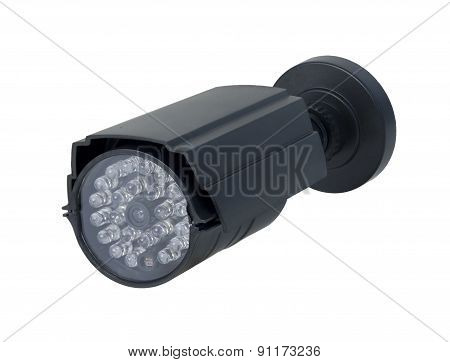 Long Black Security Camera