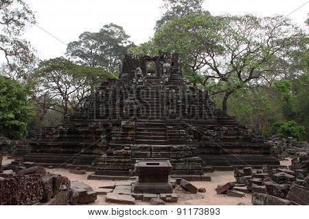 Preah Pithu Group, Angkor Thom, Siem Reap, Cambodia