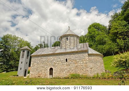 St. Michael The Archangel Orthodox Monastery on Tara River, Montenegro