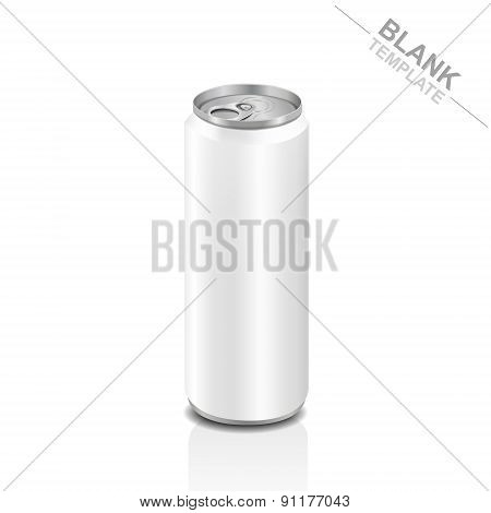 Blank Tall Aluminum Drink Can