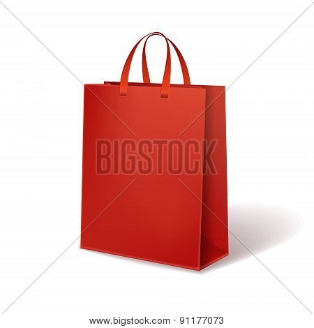 Red Paper Bag
