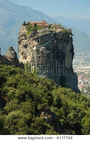 Holy Trinity (agia Triada)rock Monastery,meteora,greece