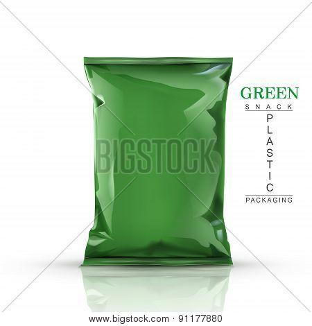 Green Snack Plastic Packaging