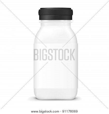 Empty Juice Bottle