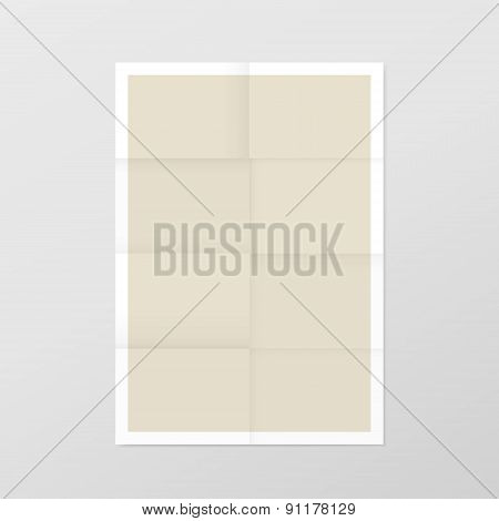 Elegant Blank Paper Template