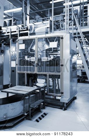 new equipment for packaging in a modern plant
