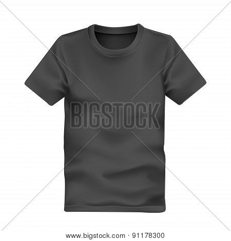 Man's T-shirt In Black