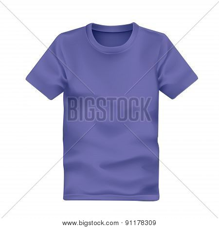 Man's T-shirt In Purple