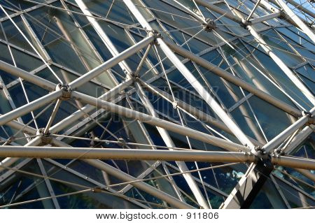 Geodesic Structure Of Building