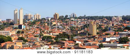 SOROCABA, BRAZIL -May 6: Downtown Sorocaba in Brazil on May 06, 2015 in Sorocaba.Eigth largest city in Sao Paulo state , Its export to over 115 countries, with an income of US$370 mn yearly
