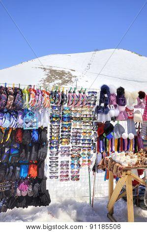 Dombay. Mountain Market