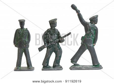 Old Soldier Toy Sailors