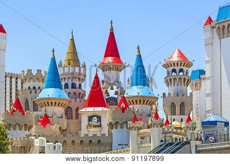 Las Vegas, Nv - June 15: Excalibur Hotel And Casino On June 15, 2012 In Las Vegas, Nevada. Its Owner