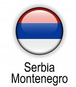 stock photo of serbia  - serbia montenegro official state flag - JPG