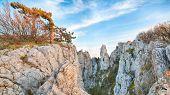 stock photo of crimea  - Cliffs of Ay - JPG
