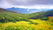 picture of mountain-range  - Chorna hora mountain range - JPG