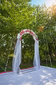 foto of dowry  - Arch for the wedding ceremony - JPG