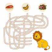 picture of maze  - Game for children - JPG