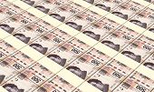 picture of pesos  - Mexican pesos bills stacks background - JPG