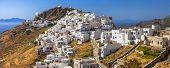 picture of greek-island  - Scenery of Greek islands  - JPG
