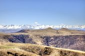 picture of mountain chain  - Mountain landscape - JPG