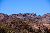pic of volcanic  - Volcanic Rock Basaltic Formation in Gran Canaria Canary Islands - JPG