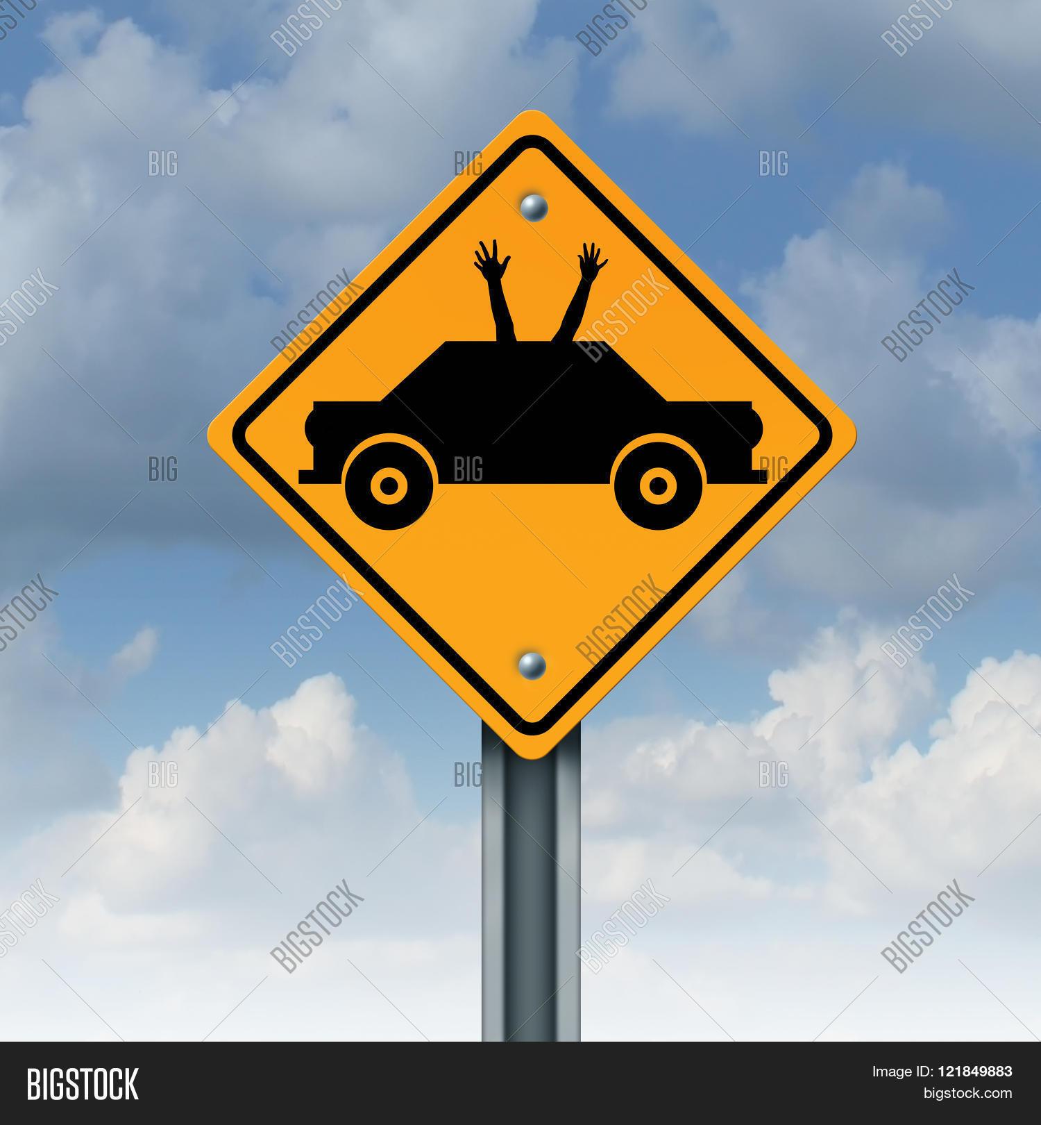 Autonomous Driving Concept Image & Photo